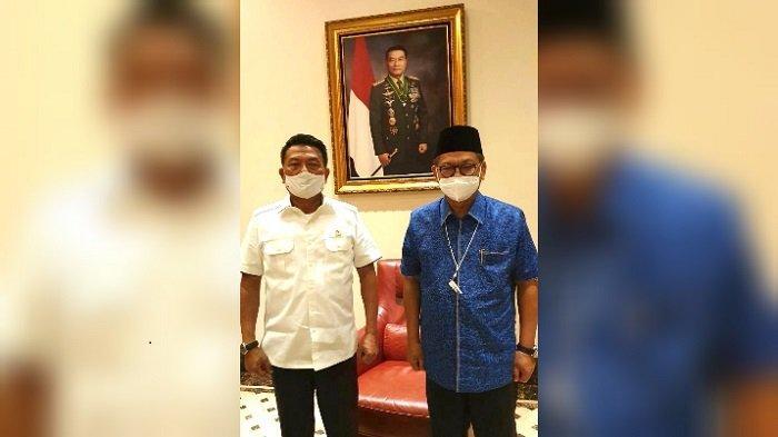 Lapor ke Moeldoko, Gubernur Sebut Kepala Staf Presiden Siap Kawal Percepatan PLTA Kayan