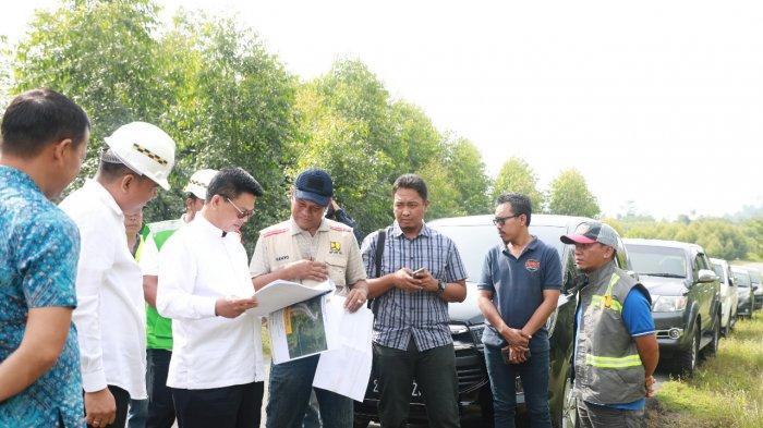 Meski Pandemi, Pemprov Berkomitmen Tetap Lanjutkan 19 Paket Pembangunan Jalan di Kaltara
