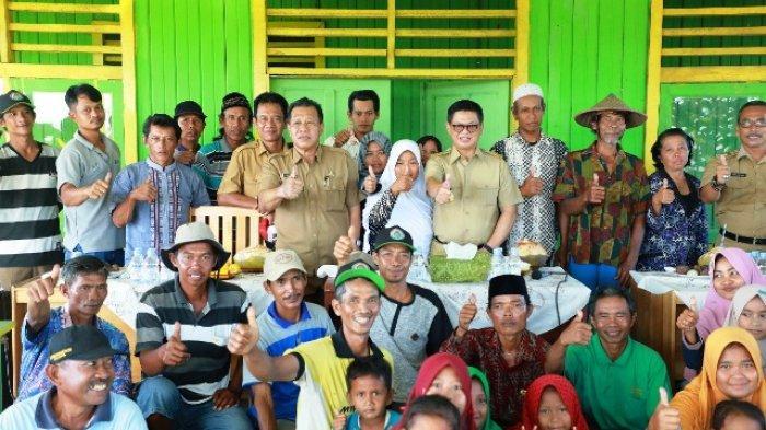 Sambangi Pemukiman Transmigran, Gubernur Kaltara Ingatkan Berbaur dengan Warga Setempat
