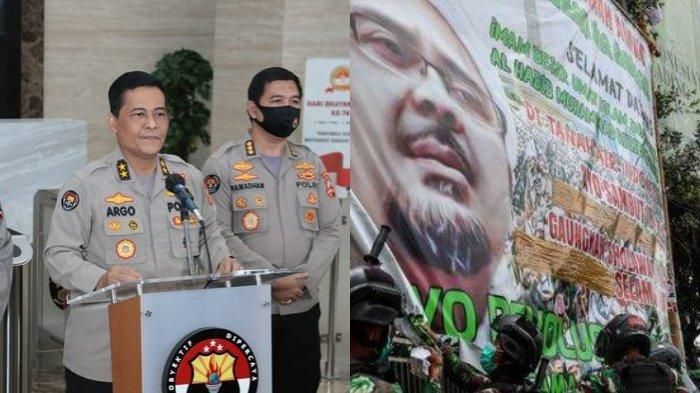 Terjawab, Polisi Temukan Unsur Provokasi di Baliho Revolusi Ahlak Habib Rizieq, Dukung Pangdam Jaya