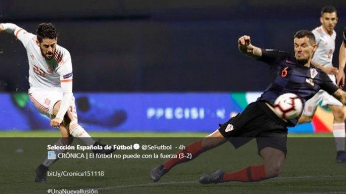 Tiga Semifinalis Piala Dunia 2018 Raih Hasil Antiklimaks di UEFA Nations League