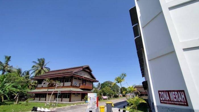 Ilustrasi penggunaan Embarkasi Haji Balikpapan sebagai tempat isolasi mandiri bagi pasien Covid-19 tanpa gejala. TRIBUNKALTIM.CO, DWI ARDIANTO