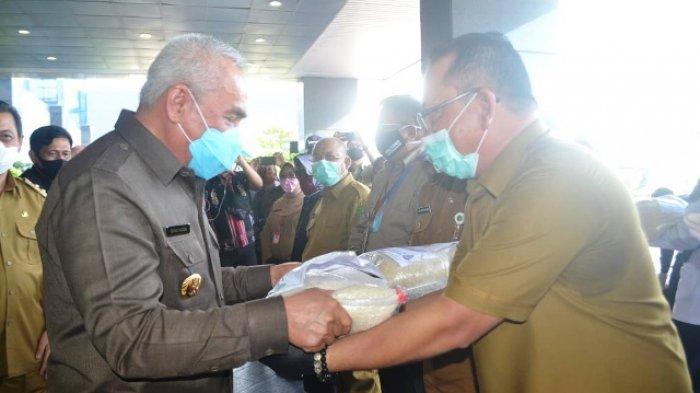 Terima Bantuan Beras dari Pemprov, Dr Stepanus: Meng-cover Hampir 100 Persen Penduduk Mahulu