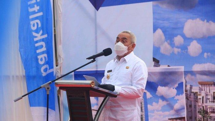 BPD Bangun Gedung Baru Unit Syariah Senilai Rp 45 Miliar, Guberur Isran: Halal dan Diridhoi Allah