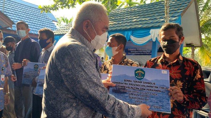 Melihat Balai Benih Udang di Lokasi Calon Ibu Kota Negara, Gubernur Kaltim Berikan Bantuan