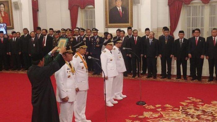 Dilantik Jokowi, Isran Noor Siap Wujudkan 8 Elemen yang Disampaikan saat Kampanye