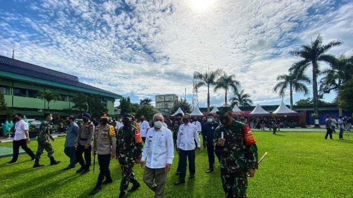 Gubernur Kaltim Apresiasi Serbuan Teritorial Kodam VI/Mulawarman, Bersama Cegah Penularan Covid-19