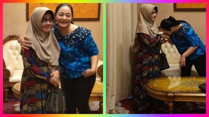 Viral, Begini Pertemuan Perdana Dua Istri Didi Kempot, Yan Vellia Peluk dan Beri Pujian Saputri
