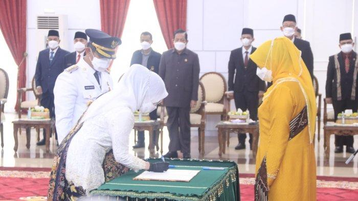 Usai Rahmad Masud Dilantik sebagai Walikota, Nurlena Diangkat Jadi Ketua Dekranasda Balikpapan