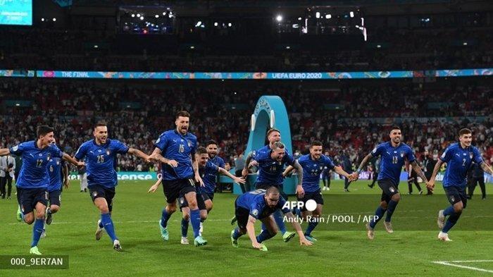 LENGKAP Highlight Euro 2021 Tadi Malam: Hasil & Juara, Donnarumma Pemain Terbaik, Ronaldo Top Skor