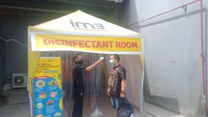 Pusat Perbelanjaan di Balikpapan Wajibkan Pengunjung Pakai Masker, Berka: Manajemen Berikan Vitamin