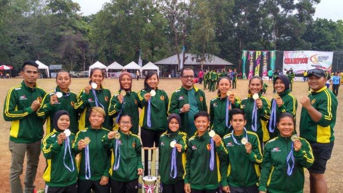 Cabang Olahraga Kriket Kaltim Masuk Kategori Unggulan Raih Medali Emas PON Papua 2020
