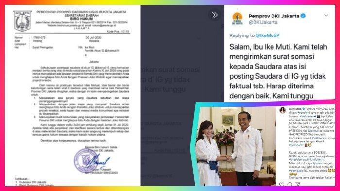 Jadi Pro Kontra, Curhatan Artis Ike Muti Disomasi Pemprov DKI Jakarta, Ini Klarifikasi Agency Artis