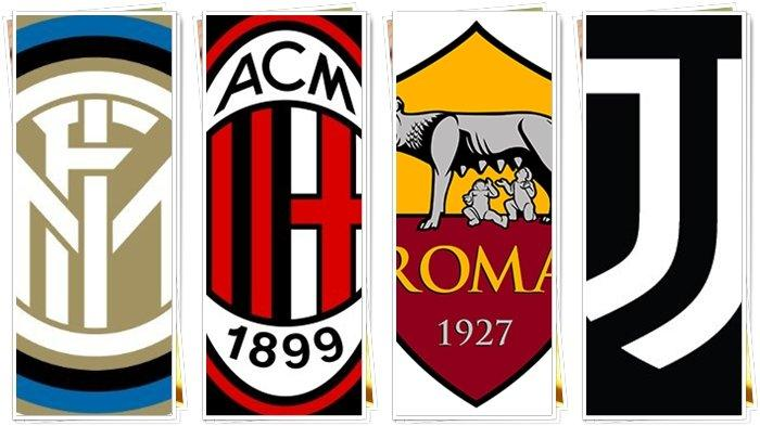 UPDATE Klasemen & Jadwal Liga Italia, AC Milan vs Inter Milan, Roma dan Juventus Berebut Posisi 3