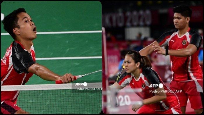 Jadwal Badminton Olimpiade Tokyo Rabu 28 Juli 2021, Ada Anthony Ginting hingga Praveen/Melati