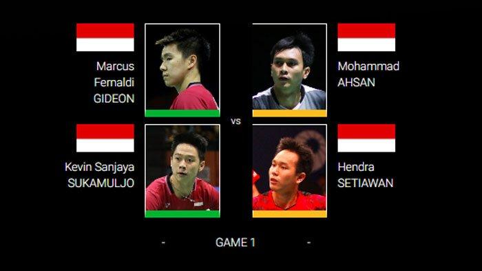 LINK LIVE STREAMING Final Indonesia Open 2019, Mulai Jam 14.00 WIB
