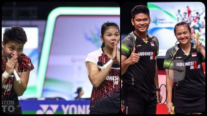 Jadwal Final Thailand Open I 2021 Siang Ini, Minggu 17 Januari 2021, LIVE TVRI, Indonesia 2 Wakil