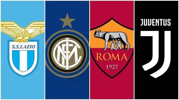 Jadwal Lengkap dan Link Live Streaming Liga Italia Pekan 20: Lazio, Inter Milan, AS Roma, Juventus