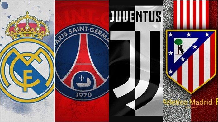 Jadwal Liga Champions Live Streaming Siaran Langsung Real Madrid vs PSG dan Juventus vs Atletico