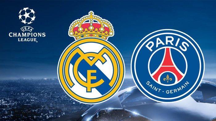 Jadwal Liga Champions Real Madrid vs PSG, Live Streaming TV Online Champions TV 1 vidio.com, UseeTV