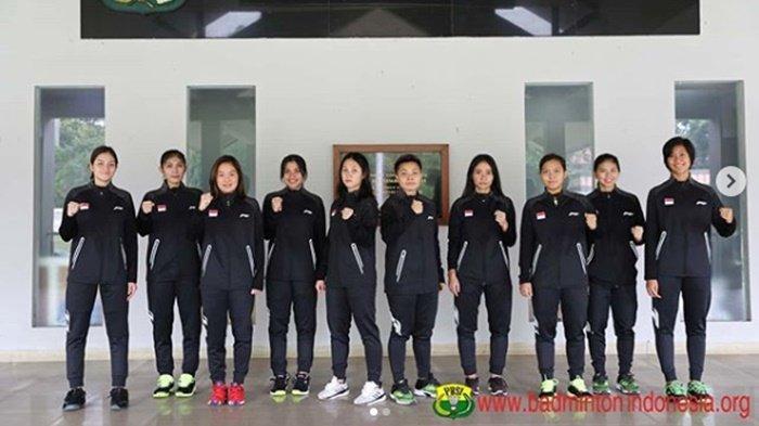 Jadwal & Line Up Pemain Badminton Asia Team Championships 2020 Tim Putra Vs Korea, Putri vs Filipina