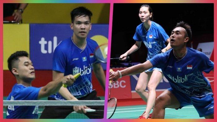 Jadwal & Link Live Streaming Thailand Masters Rabu 22 Januari 2020 Ada Hafiz/Gloria dan Leo/Daniel