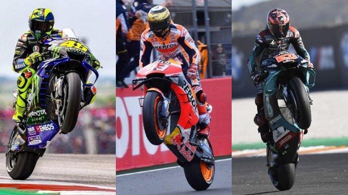Resmi, Jadwal MotoGP 2020, Berikut Daftar Pembalap Termasuk Marc Marquez dan Valentino Rossi