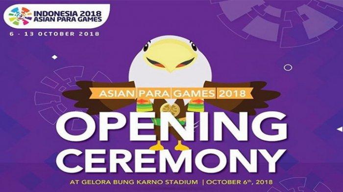 Besok Pembukaan Asian Para Games 2018, Penyandang Disabilitas Diprioritaskan