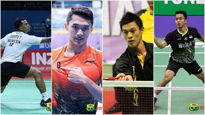 Jadwal Pertandingan Indonesia Masters 2020 Besok Rabu 15 Januari 2020, 4 Tunggal Putra Lawan India