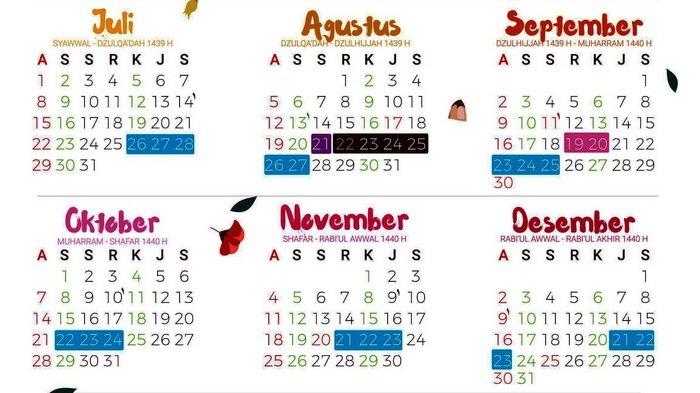 Jadwal Puasa Muharram 1440 Hijriyah Dalam Kalender Masehi Dimulai 19 September 2018 Tribun Kaltim
