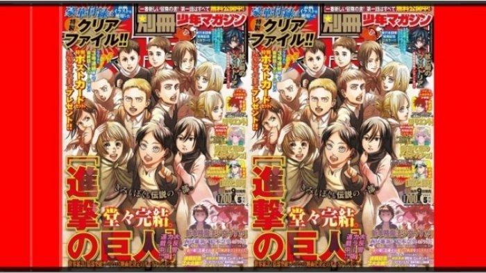 Jadwal Rilis Manga Attack On Titan Chapter 139, Bagaimana Ending Kisah Eren, Nasib Mikasa & Armin?