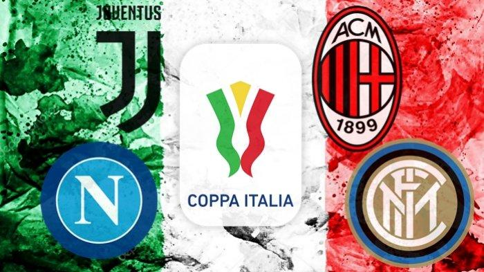 Resmi Semifinal Coppa Italia Juventus vs AC Milan Ditunda, Duel Napoli vs Inter Milan Bernasib Sama?