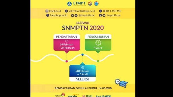 Pendaftaran SNMPTN 2020 Tinggal 2 Hari, Lihat 6 Tips dan Trik Pilih PTN dan Prodi, Harus Realistis