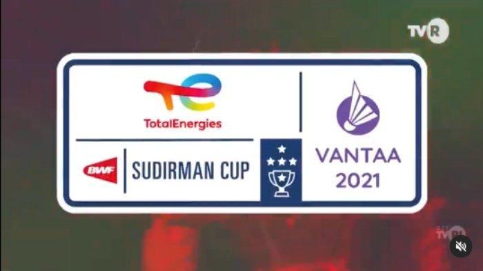 Jadwal Sudirman Cup 2021 Live TVRI, Streaming Vidio.com, Champions TV & USeeTV, ROC Lawan Pertama