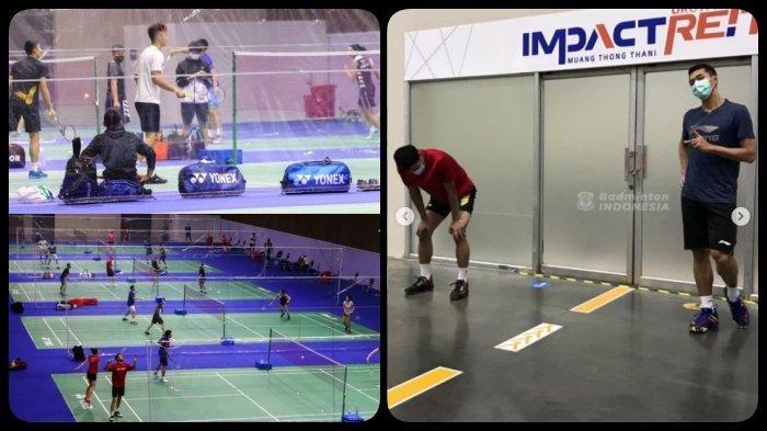 Jadwal Thailand Open I, Jam Tayang Live TVRI, Indonesia Tanpa Minions, Semua Atlet Negatif Covid-19