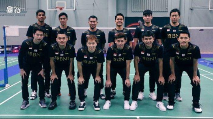 Jadwal Thomas Uber Cup 2020 Hari Ini Live TVRI, Laga Krusial Tim Thomas Indonesia vs China Taipei