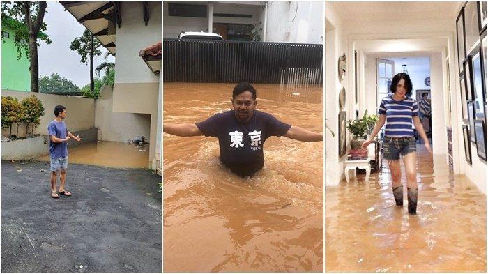 Jakarta Banjir, Rumah 5 Artis Tergenang, Nicky Tirta sampai Yuni Shara, Gaya Eks Raffi Ahmad Disorot
