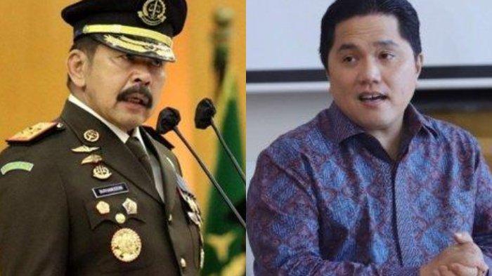Terjawab, Jaksa Agung Bongkar Jumlah Kerugian Asabri Lebih dari Jiwasraya, Erick Thohir Bereaksi
