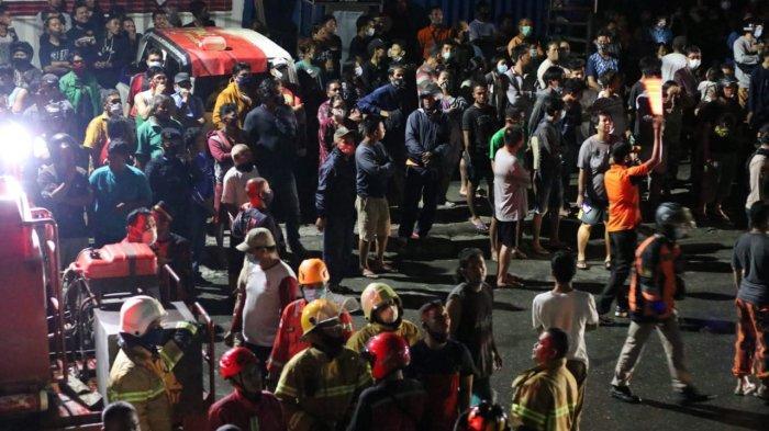 Saksi Mata Pertama di Kebakaran Prapatan Balikpapan, Bangunkan Warga Pakai Palu, Dipukul ke Tiang