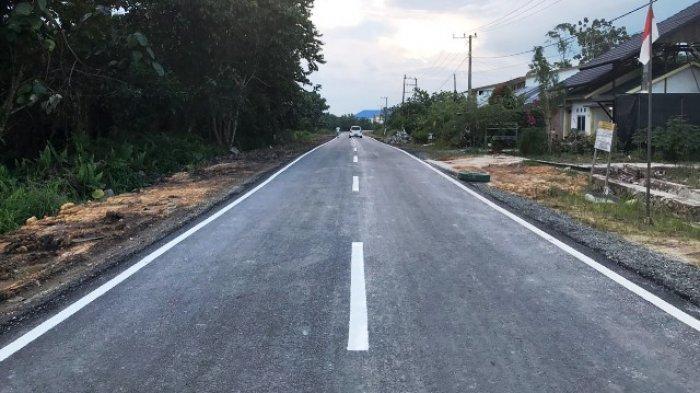 Mulus, Peningkatan Jalan Menuju Bapelkes Tanjung Selor Tuntas 100 Persen