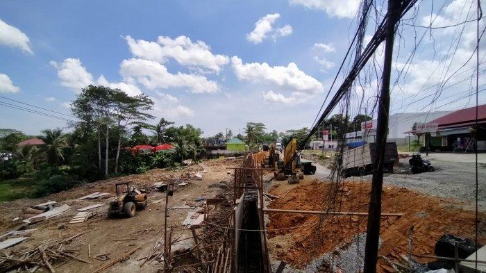 Jalan Km 11 Balikpapan-Samarinda Kaltim Sudah Selesai, Masuk Rencana Beautifikasi