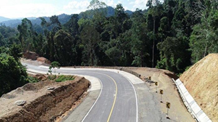 48 Kilometer Akses Perbatasan Kaltara Sudah Beraspal Mulus