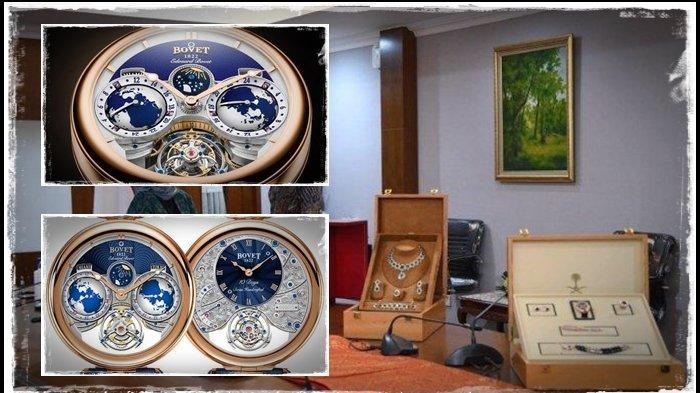 PROFIL Jam Tangan Bovet AIEB001 Gratifikasi Jokowi, Dilapis Emas 18 Karat, Pengikat dari Kulit Buaya