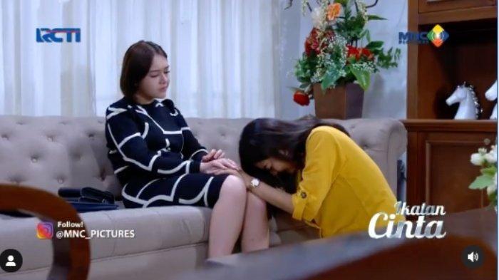 Jam Tayang  & Trailer Ikatan Cinta 11 Juni 2021, Elsa Nangis dan Berlutut Minta Maaf, Reaksi Andin?