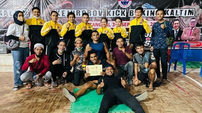 Kick Boxing Kubar Juara Umum, Boyong 7 Medali Emas di Kejurprov Se-Kaltim