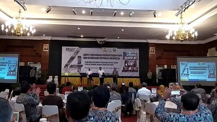 Alat Musik Ini yang Bikin Pembukaan Rapat Koordinasi Kementerian PUPR dan Kejaksaan RI, Berbeda