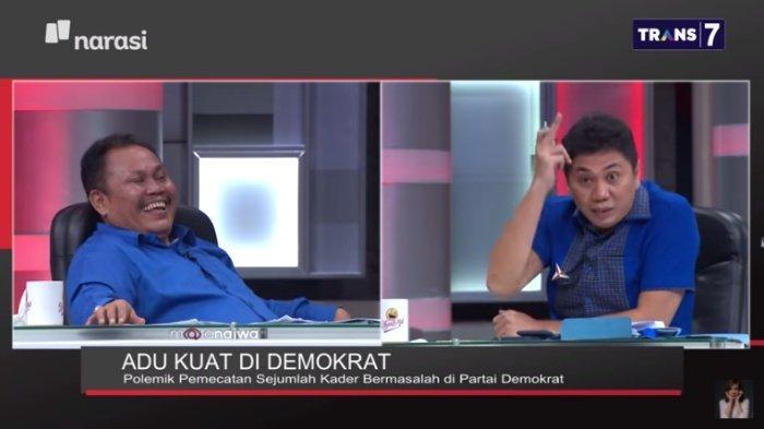 Jansen Sitindaon Puji Jhoni Allen di Mata Najwa, Orang Sakti di Demokrat, Kata SBY Sebelum Pemecatan