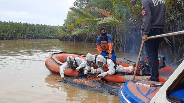 Dua Jasad Pria Ditemukan dan Dipastikan Korban Ledakan Kapal yang Terbakar di Samarinda