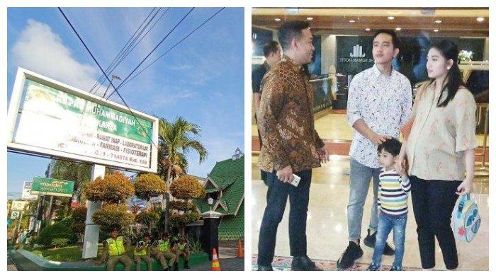 Jelang Kelahiran Cucu Baru Jokowi, Ayah Jan Ethes Belum Terlihat, Trotoar Depan RS PKU Disterilkan