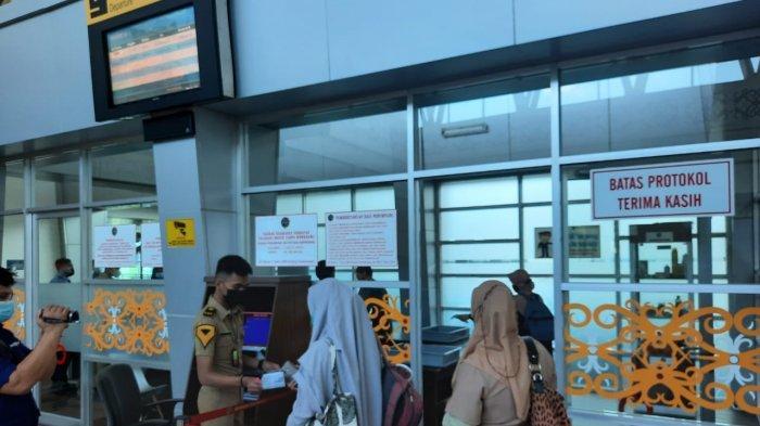 Larangan Mudik 2021, Sejumlah Maskapai di Bandara Kalimarau Berau Hentikan Aktivitas Penerbangan